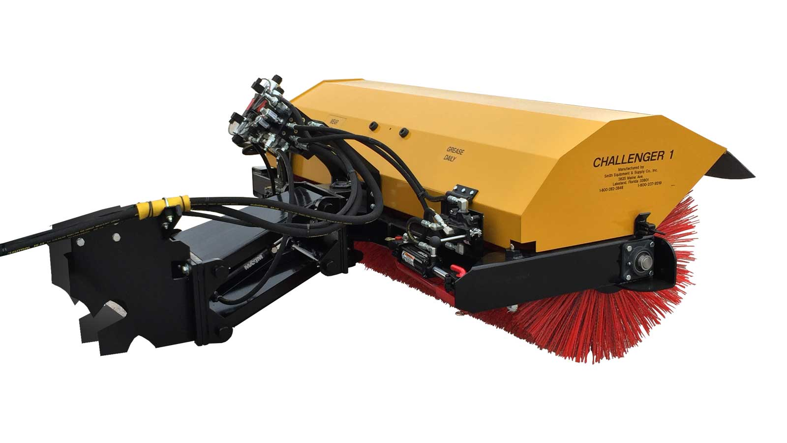 Rotary Broom Sweeper : Sweeper attachments challenger smith equipment