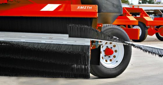 Smith Equipment - Sweeper Brushes, Challenger 1 Brushes, Tube Brushes, Wafer Brushes, Gutter Brushes, Strip Brushes, Citrus Brushes, Vegetable Brushes, Trommel Brushes, and Custom Brushes