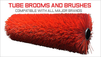 sweeper brushes, tube brooms, tube broom