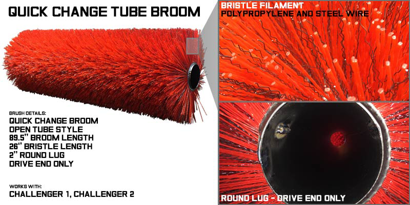 tube broom, sweeper brushes, sweeper brush, tube brooms