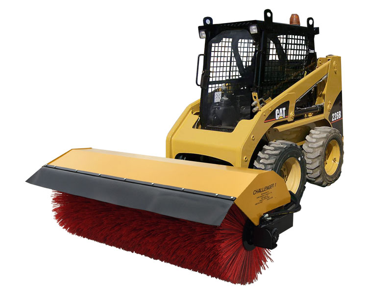 Skid Steer Sweeper And Attachments Smith Equipment