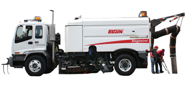 Tube Brooms for Elgin megawind street Sweeper
