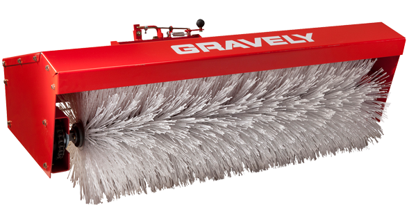 Tube Brooms for Gravely sweepers