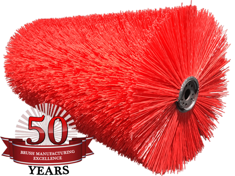 Tube Brooms for FMC Vanguard Sweeper