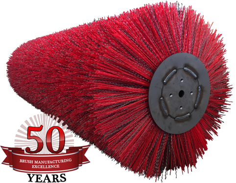 Tube Brooms for Broce 350 Sweeper