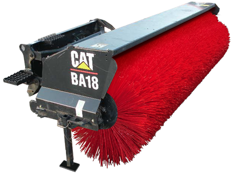 CAT tube brooms and sweeper brushes
