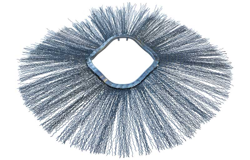 Steel Wafer Brushes for Bobcat