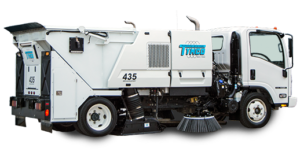 Street Sweeper - Wafer Brooms Usage - Smith Equipment - Lakeland Florida
